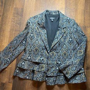 Lord & Taylor Metallic Jacket
